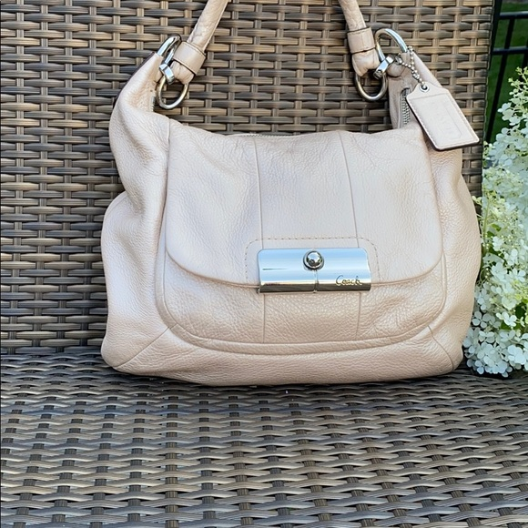 Coach Handbags - Coach 16808 Champagne Hobo Shoulder Bag